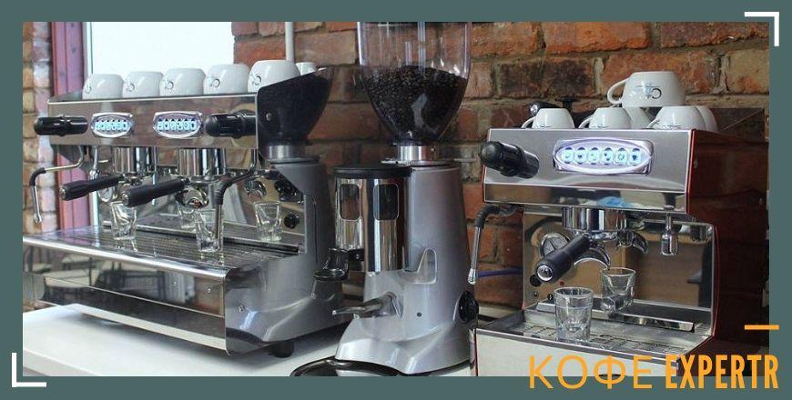 Однорожковые и двухрожковые профессиональные кофемашины