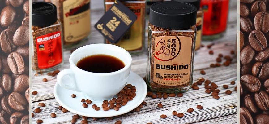 Банка растворимого кофе Bushido Kodo