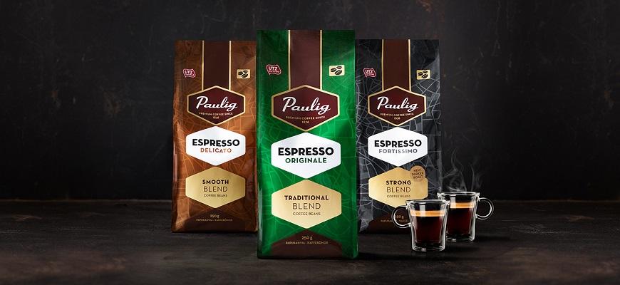 Кофе Paulig Espresso Barista